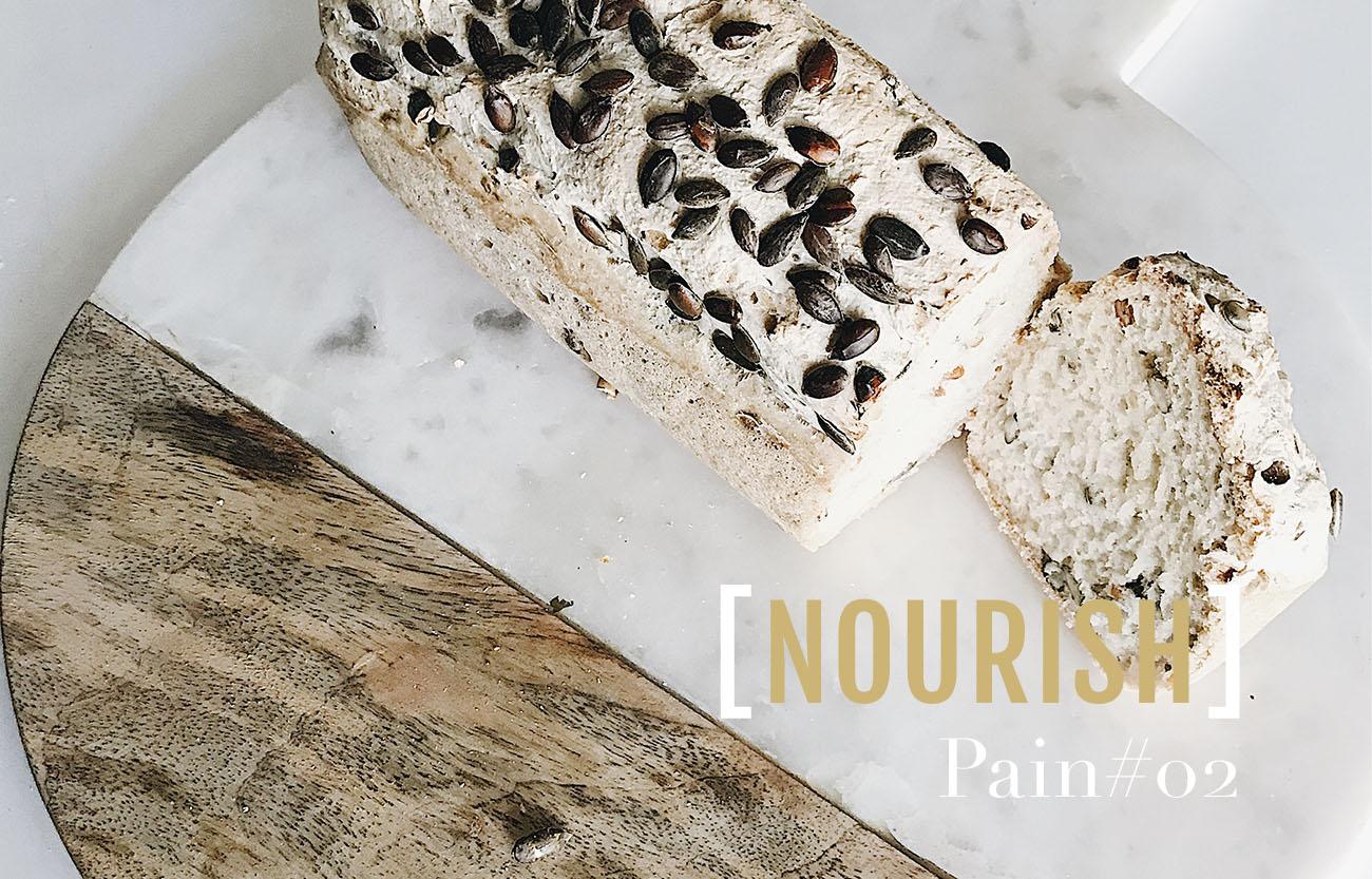 Recette de pain blanc sans gluten